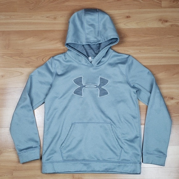 Under Armour Other - Under Armour Cold Gear Hooded Sweatshirt
